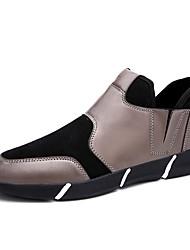 Men's Sneakers Spring Fall Casual Flat Heel Gore Black/ White/ Gold Walking