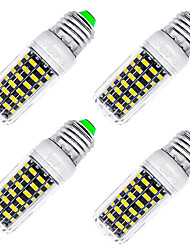 YouOKLight 4PCS High Luminous E27  5733 SMD LED Corn Bulb 7W Spotlight LED Lamp Candle Light For home Lighting Warm White Light 220V