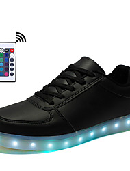 Women 16 color LED Shoes Boys Girls Light Up Sneakers With Remote Control plus size