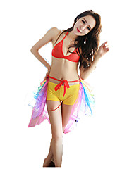 Carnival Cosplay Festival/Holiday Solid Carnival Lycra Spandex