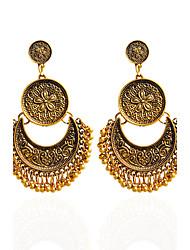 Drop Earrings Hoop Earrings Earrings Set Jewelry Women Wedding Party Casual Alloy Acrylic 1 pair Gold Silver Coppery