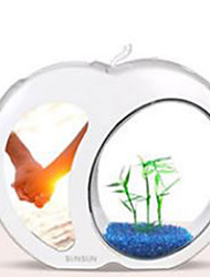 Mini Aquariums Ornament Energy Saving Glass