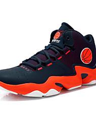 Men's Casual Shoes Summer & Autumn Comfort PU Casual Flat Shoes Black & White / Black Blue / Black Green / Orange Sports Shoes