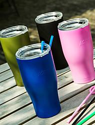 Clássico Esportivo Exterior Automotivo Artigos para Bebida, 700 ml retenção de calor Portátil Aço Inoxidável Café Cerveja Vacuum Cup