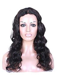 Cabelo humano virgem brasileiro 360 perucas frontais do laço onda do corpo 360 peruca do laço com cabelo do bebê