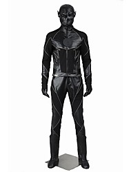 Cosplay Costumes Halloween Props Party Costume Masquerade Super Heroes Cosplay Movie Cosplay Black Solid Coat Pants Gloves Mask Boots