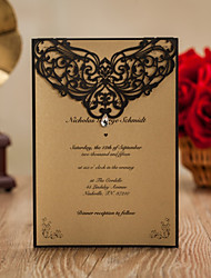 Top Fold Wedding Invitations 50-Thank You Cards Response Cards Invitation Sample Greeting Cards Mother's Day Cards Baby Shower Cards