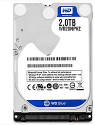WD WD20NPVZ 2TB Laptop / Notebook disco rígido 5400rpm SATA 3.0 (6Gb / s) 8MB esconderijo 2.5 polegadas