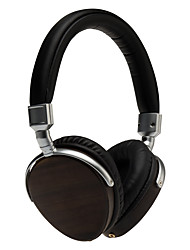 HI-FI Over-the-Ear Headphones Ebony Wood Earphones Headband DJ /Music Headsets 50mm Diameter Speaker /Drivers