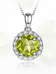 Pendants Crystal Titanium Basic Unique Design Fashion Yellow Jewelry Daily 1pc