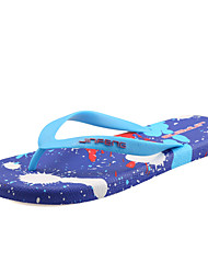 Men's Slippers & Flip-Flops Spring Summer Other Rubber Outdoor Casual Flat Heel Black Blue Red Other