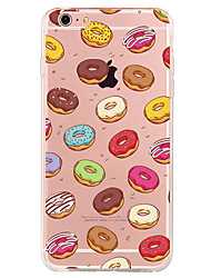 Pour Motif Coque Coque Arrière Coque Fruit Flexible PUT pour Apple iPhone 7 Plus iPhone 7 iPhone 6s Plus/6 Plus iPhone 6s/6 iPhone SE/5s/5