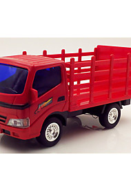 Truck Pull Back Vehicles 1:25 Metal Plastic Red