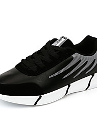 Men's Sneakers Comfort PU Outdoor Athletic Lace Up Tennis Shoes