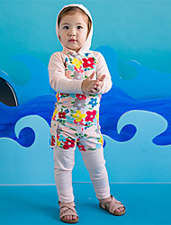 Unisex Casual/Daily Print Sets,Rayon Spring Fall Clothing Set