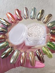 1g Mirror Mirror Silver Glitter Mirror a Flour Silver Manicure Magic Powder