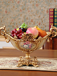 Creative Fruit Bowl Furnishing Articles Fruit Basket Resin Desktop Decoration Luxury European Top-Grade Process