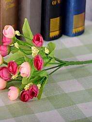 1 Филиал Пластик Розы Искусственные Цветы 22