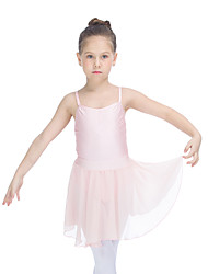 Ballet Skirts Women's Children's Performance Chiffon Nylon Lycra Ruffles 1 Piece Skirt