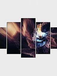 Impression sur Toile Abstrait Paysage Moderne Classique,Cinq Panneaux Toile Toute Forme Imprimer Art Décoration murale For Décoration