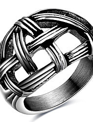 Punk Casual Fashion Style Nightclub Tide Models Men's Ring Charm Ring For Men 316L Titanium Steel Party Rings Gift Stainless