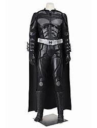 Косплэй Kостюмы Товары для Хэллоуина Костюм для вечеринки Маскарад Супер-герои Bats Косплей Косплей из фильмов черный ОднотонныйКофты