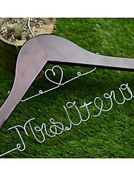 Personalized Wedding Hanger Custom Wedding Dress Hanger Wire Bride Name Hanger Bridesmaid dress Hanger with Silver Lettering