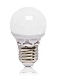 3W E26/E27 Ampoules Globe LED G45 12 SMD 2835 262 lm Blanc Froid AC220 V 1 pièce