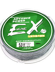 100M / 110 Yards Monofilament Fishing Line Mossy Gray 20LB 0.16 mm For General Fishing