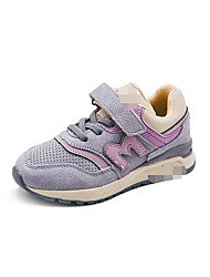 Girl's Boots Comfort PU Casual Pink Purple Gray