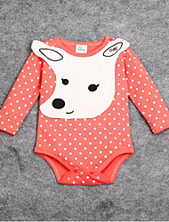 Baby Casual/Daily Solid One-Pieces Spring Long Sleeve