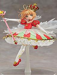Anime Action-Figuren Inspiriert von Cardcaptor Sakura Sakura Kinomodo PVC 26 CM Modell Spielzeug Puppe Spielzeug