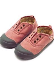 Mädchen-Loafers & Slip-Ons-Lässig-LeinwandKomfort-Grün Rosa Rot Grau