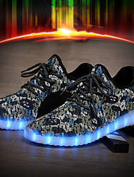 2017 New Arrival Women's Men's LED Shoes High LED light luminous shoes USB Charging Best Seller High Top Basket Fashion Sneakers Blue