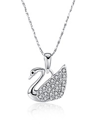 Women's Pendant Necklaces AAA Cubic Zirconia Zircon Silver Plated Gold Plated Rose Gold Plated Simulated Diamond Alloy Animal ShapeUnique