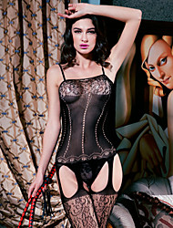 Women Nylon Chemises & Gowns/Garters & Suspenders/Lace Lingerie/Ultra Sexy Teddy Nightwear