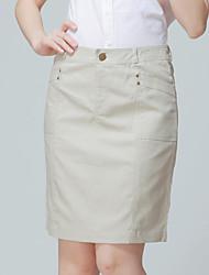JUPE ( Coton/Lin ) Au dessus des genoux - Style - Moyen