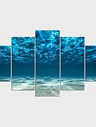 Landscape Fantasy Modern,Five Panels Canvas Any Shape Print Wall Decor For Home Decoration