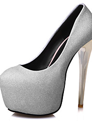 Women's Heels Spring Summer Fall Winter Other Synthetic Wedding Party & Evening Dress Stiletto Heel Purple Silver Gray