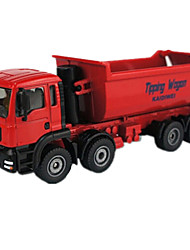 Construction Vehicles Toys 1:50 Metal ABS Plastic Red