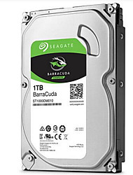 Seagate 1 To Disque dur de bureau 7200rpm SATA 3.0 (6Gb / s) 64Mo cachetteBarraCuda