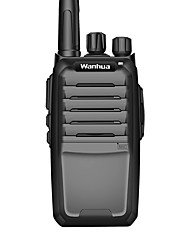 commerciale professionnelle talkie-walkie sans fil 6w uhf 403-470mhz de Wanhua