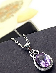 Women's Pendants Crystal Drop Basic Adorable Fashion Purple Jewelry Daily Casual 1pc