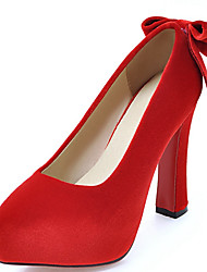 Women's Shoes Stiletto High Heel Pointed toe Bowknot Slip On Pump More Color Available