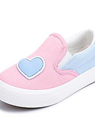 Girl's Loafers & Slip-Ons Comfort Canvas Casual Blue Pink