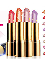 1Pcs Golden Temperature Changes Color Lipstick Professional Makeup Cosmetic Lipstick Beauty