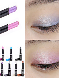 1Pcs  Brand  Eyeshadow Stick Music Flowers Single Colors Golden Luminous Eye Shadow Cosmetic Eyes Cream Pen