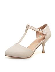 Women's Heels Spring Summer Other Leatherette Dress Stiletto Heel Others Pink Yellow Beige Black