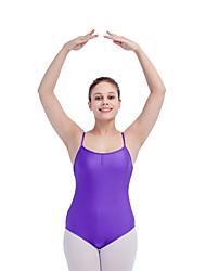 Ballet Leotards Women's Children's Training Nylon Lycra 1 Piece Sleeveless Leotard