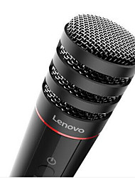 Lenovo UM10 Wired Karaoke Microphone 3.5mm Black For Cellphone